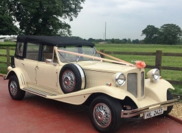 Cream Beauford for weddings in Hatfield